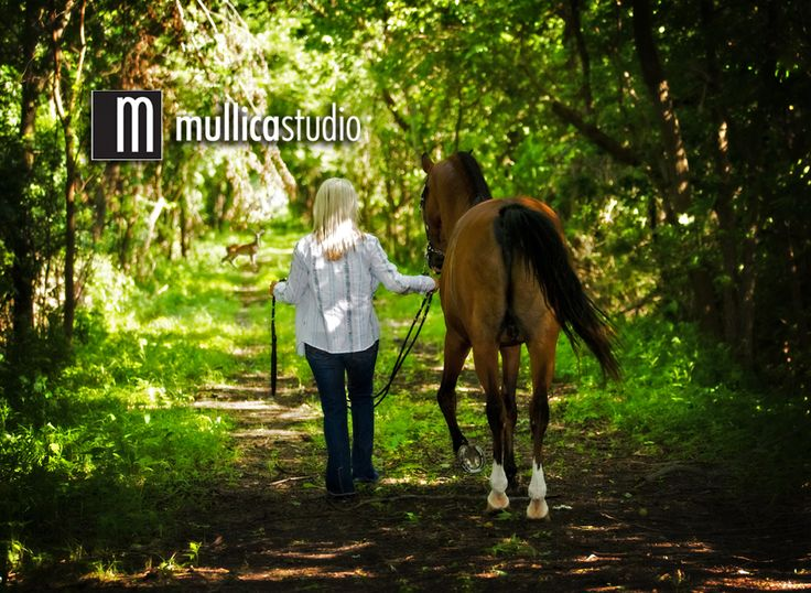 Cool Senior Picture Ideas | Check out this unique picture of a high school senior with her horse.