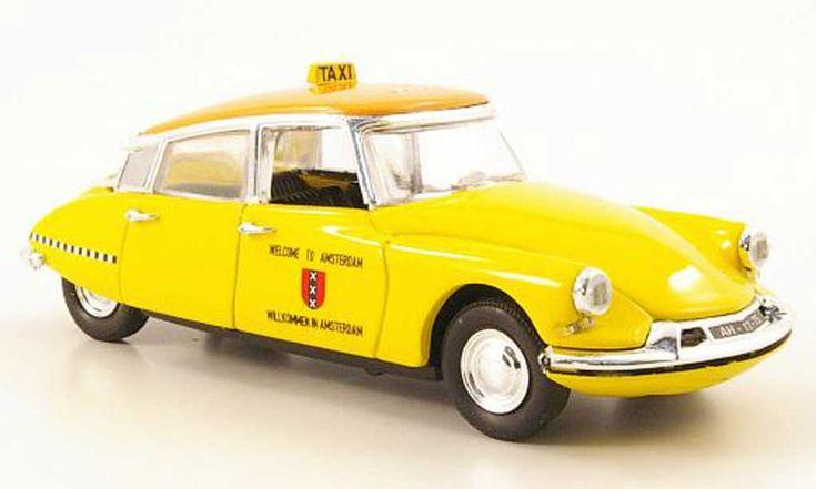 Citroen DS 19 Taxi Amsterdam 1963 Rio diecast model car 1/43 - Buy/Sell Diecast car on Alldiecast.us