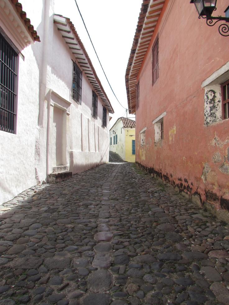 Las calles de la vieja colonia
