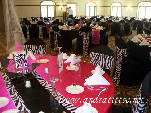 101 best zebra weddings images on pinterest zebra wedding pink zebra print wedding reception photo by seth beth wedding photographer junglespirit Images