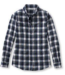 LLBean: Scotch Plaid Shirt in Navy Tartan
