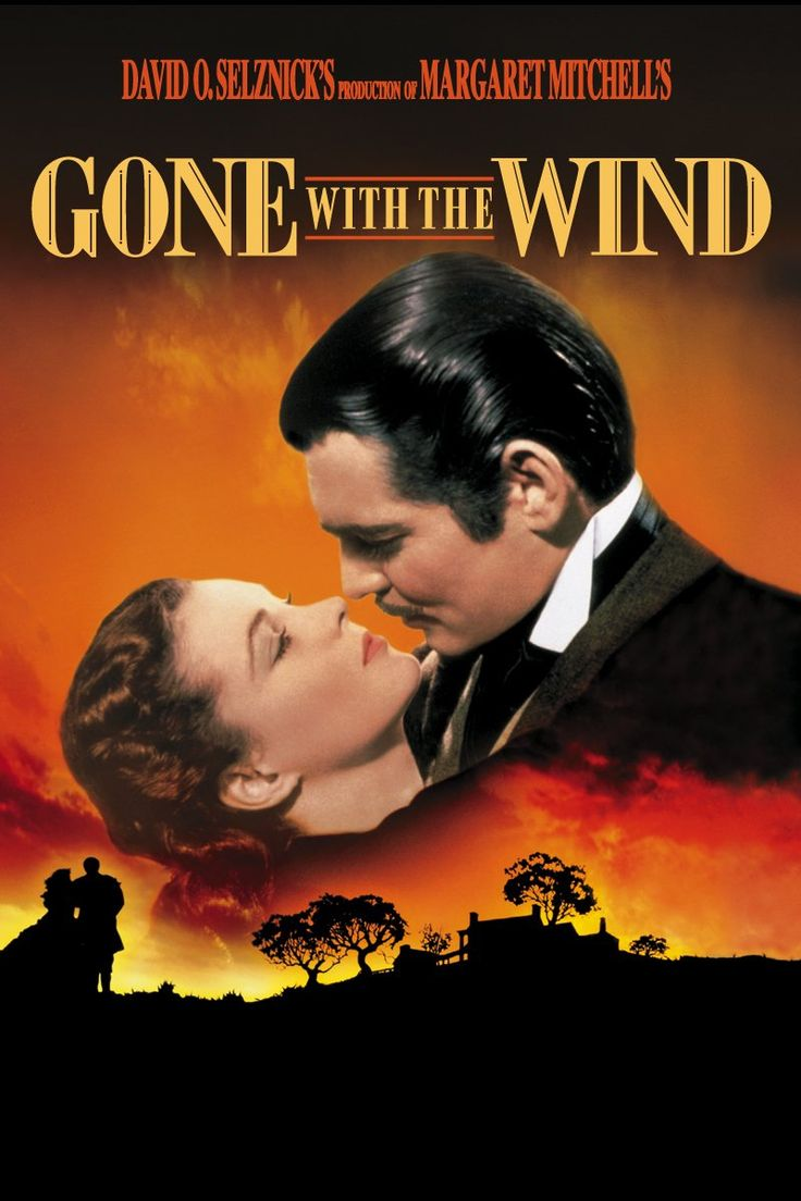 """Gone With the Wind"" Filmed and presented on a scale not seen in modern productions, Gone with the Wind is, if not the definitive Hollywood film, then certainly near the top of the list."