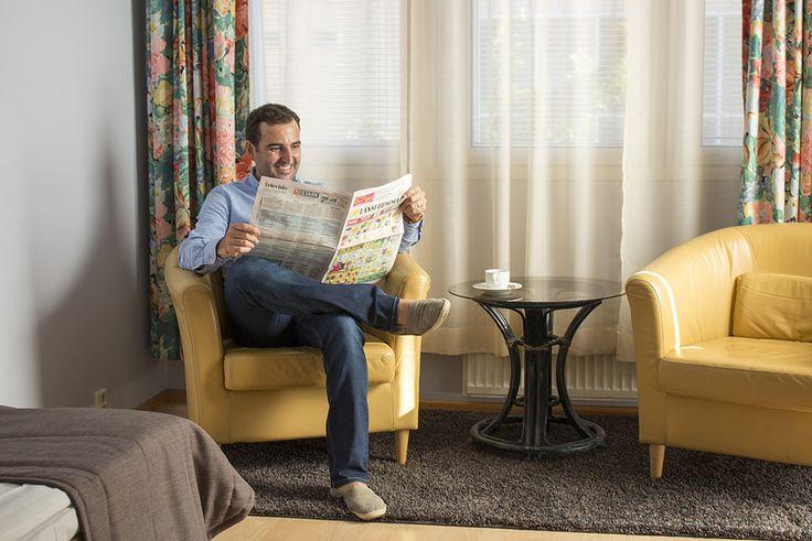 Customer, Hotelli Lohja | by visitsouthcoastfinland #visitsouthcoastfinland #Finland #Lohja #hotelroom #hotellilohja