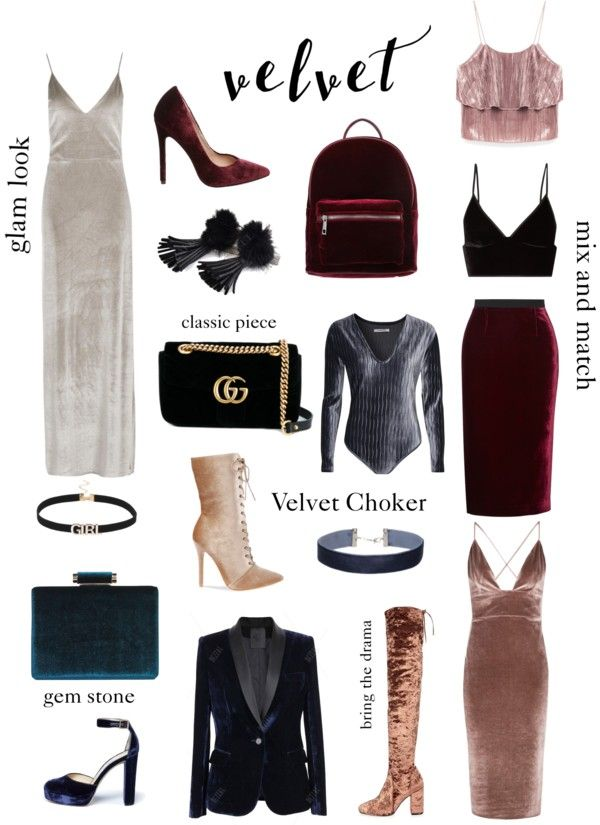 Seven ways to wear Velvet for Fall - Rock.Paper.Glam. | Fall Fashion Trends 2016