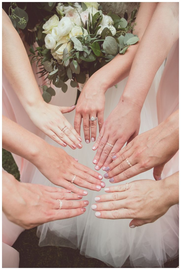 Bridesmaids gifts - matching rings! Northbrook Farm Orillia wedding. Photo by New Vintage Media.