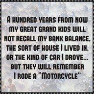 Motorcycles!