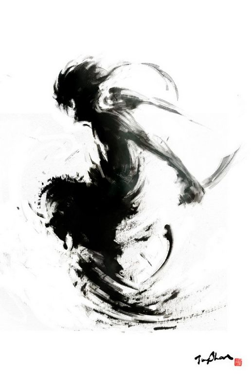 L'artiste taïwanais Rola Chang (Jungshan), travaille en tant qu'illustrateur indépendant. Avec des dessins à l'encre maîtrisé, ce dernier démontre tout son talent, notamment avec ses illustrations proches de l'univers des jeux vidéos de combats comme Street Fighter.