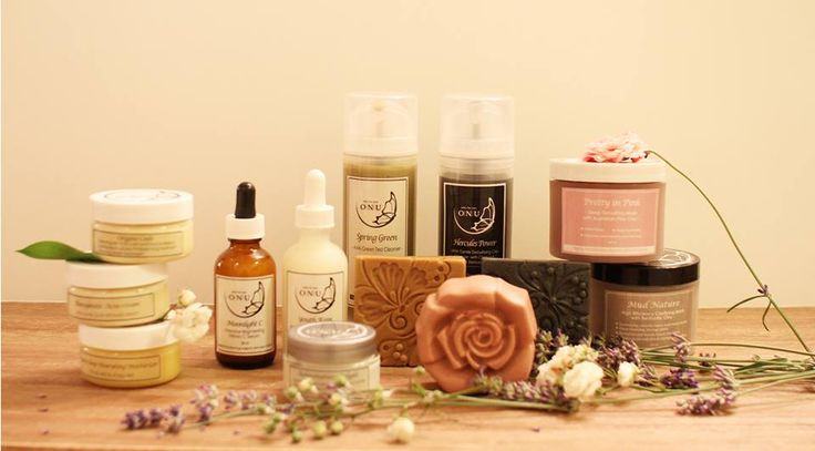 Highly functioning organic skin care every day fresh made Only For You  www.onuonlyforyou.com