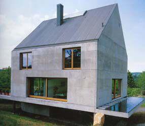 House in France by Herzog & De Meuron  www.herzogdemeuron.com