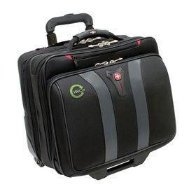 "Wenger - GRANADA 17"" Wheeled Computer Case A modern interpretation of a wheeled business case, the Granada 17"" holds all of your belongings without weighing you down 16.5""W x 17""H x 10""D - Price: $100.00/ea (Qty: 95)"