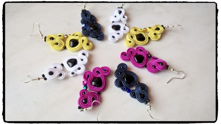 ColorLove soutache earrings 😉