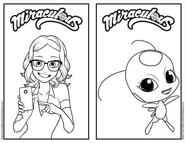 mamá decoradora ladybug dibujos para colorear imágenes