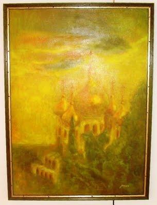Mária Magdolna templom Jeruzsálem