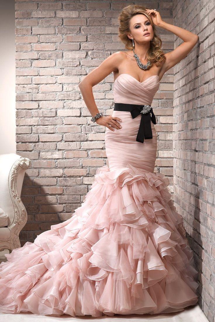 Mejores 110 imágenes de Vestidos en Pinterest | Vestidos de novia ...