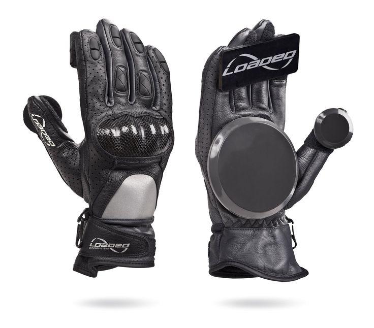 Loaded Boards Leather Downhill Race Longboard Slide Glove (Small/Medium)
