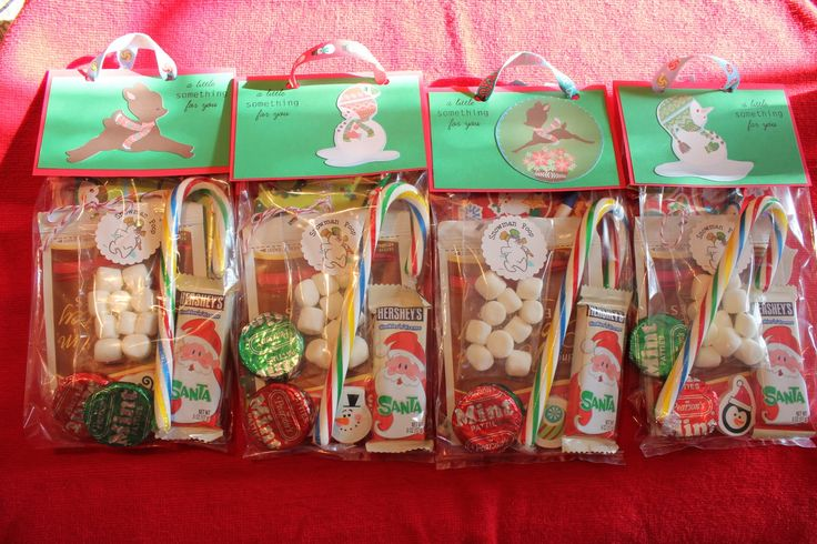 Christmas treat bags for children