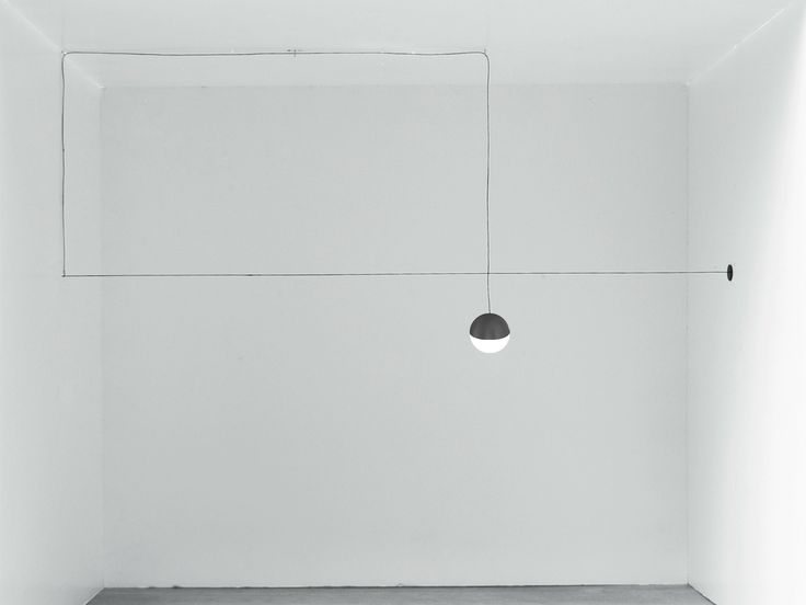 LED pendant lamp STRING LIGHT - SPHERE HEAD by FLOS design Michael Anastassiades