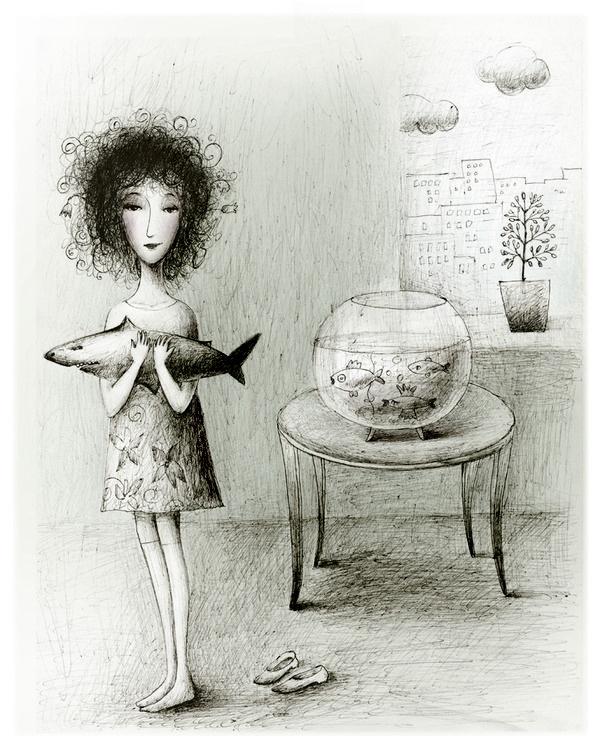 Russian Illustrator Elena Lishanskaya