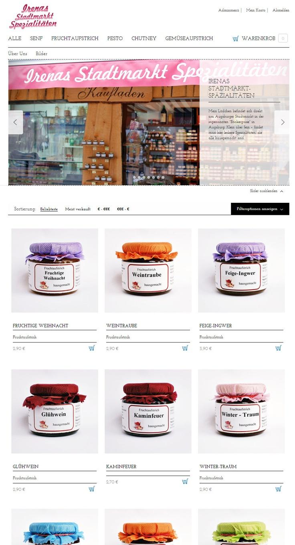 online shop irenas spezialit ten augsburg allgemeine bilder. Black Bedroom Furniture Sets. Home Design Ideas
