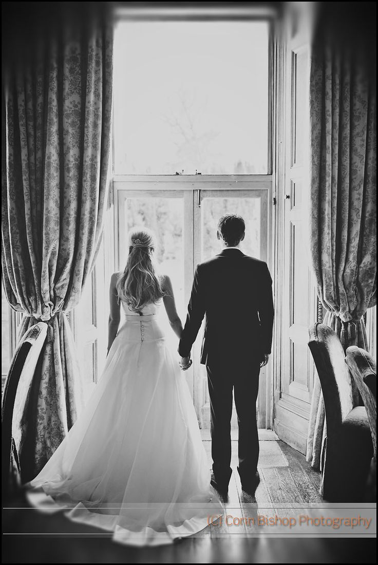 Castle Leslie Wedding – Bride and Groom Window Light