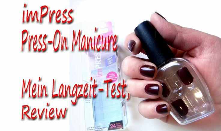 Kennt Ihr #ImPress Nägel? Ich stell sie Euch im Video vor :-)