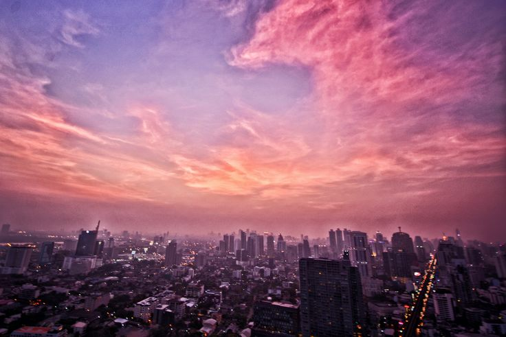 Bangkok - Sunset - Octave Rooftop Bar