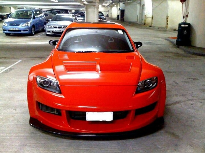 Mazda RX-8 Wide Body Kit | Car Pictures
