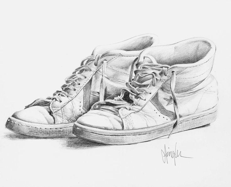 Shoe Sketch Vans