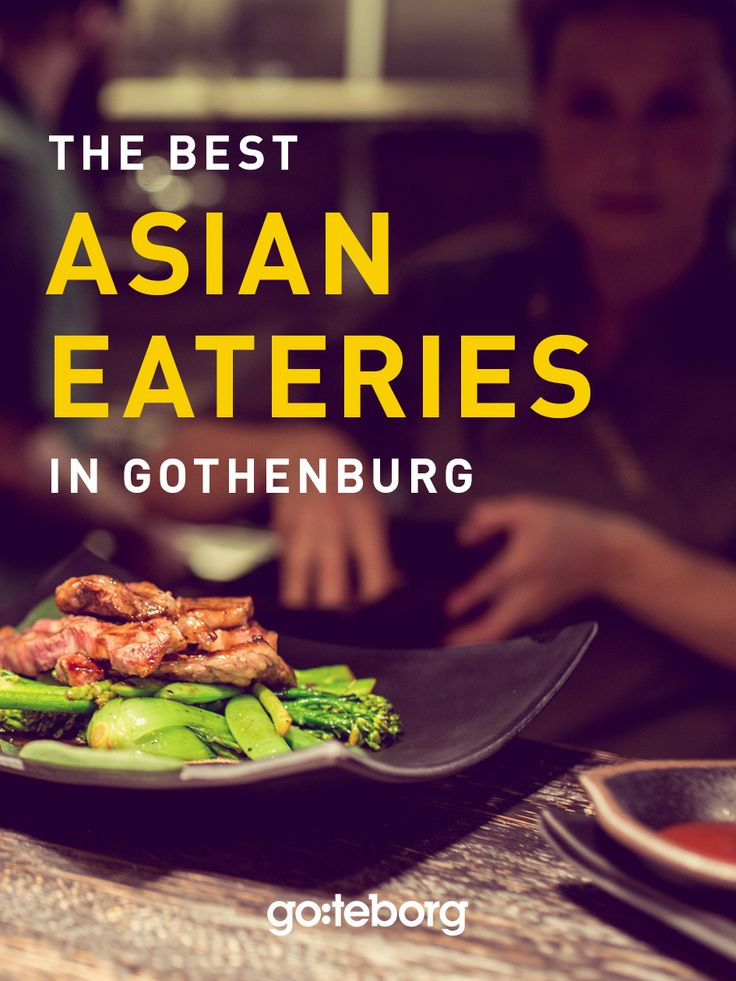 The best Asian restaurants in Gothenburg, Sweden. | goteborg.com | Photo: Fredrik Sundqvist/TOSO
