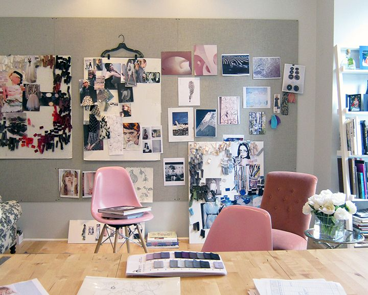 New York Fashion Designer Rebecca Tayloru0027s Office Part 4