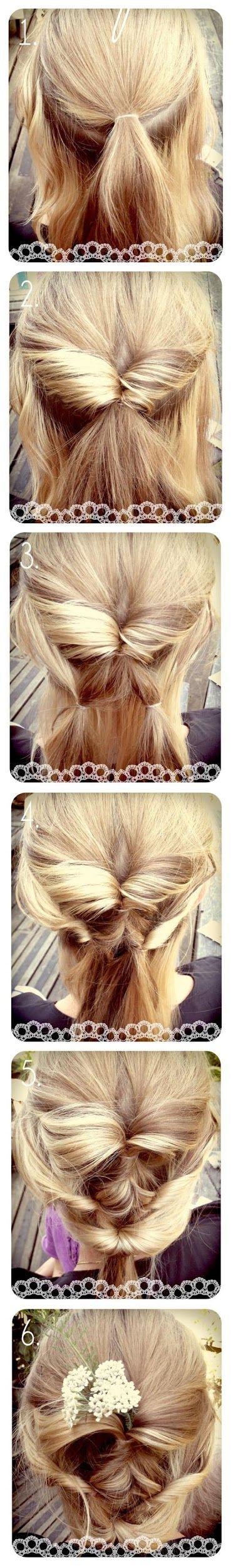 Make a Diy Wedding Hair   hairstyles tutorial