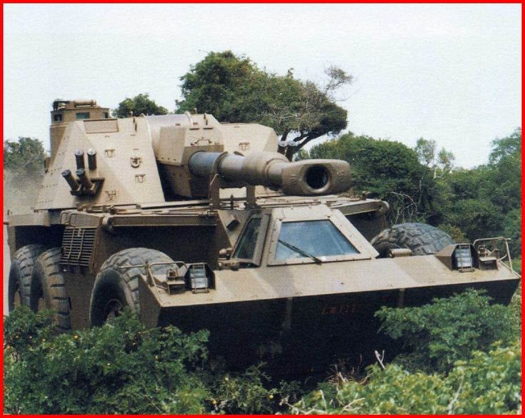 SADF.info G6 - 155mm Self - Propelled Artillery