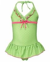 Penelope Mack Kids Swimwear, Little Girls or Toddler Girls One-Piece Ruffled Swimsuit - for the cutest girl at the beach!