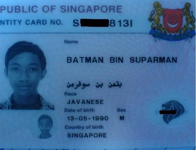Create Your Own Superhero - Batman bin Suparman!   The Travel Tart Blog