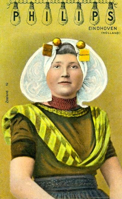 Philips vintage postcard