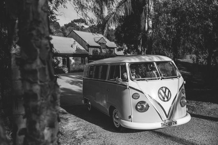 Hunter Valley wedding with Kombi Van for Kombi Celebrations. Image: Cavanagh Photography http://cavanaghphotography.com.au