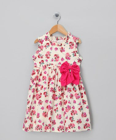 Take a look at this Pink Elsie Dress - Infant, Toddler & Girls by Powell Craft on #zulily today!