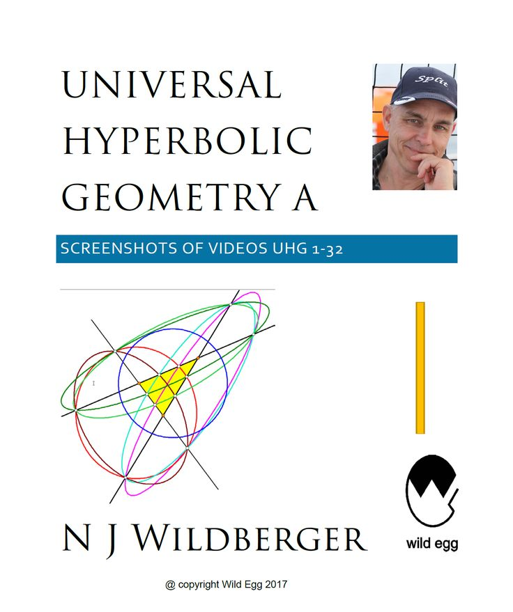 A screenshot pdf of Wildberger's YouTube channel Universal Hyperbolic Geometry A