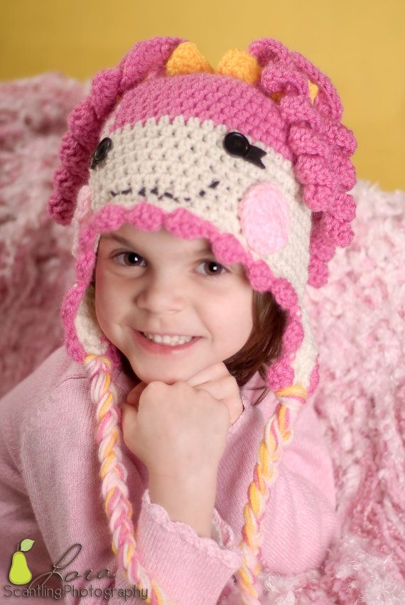Oopsy Loopsy Crochet Pattern All Sizes by boomerbeanies on Etsy, $4.99    I have to make this for Kristen.  It is so cute!!