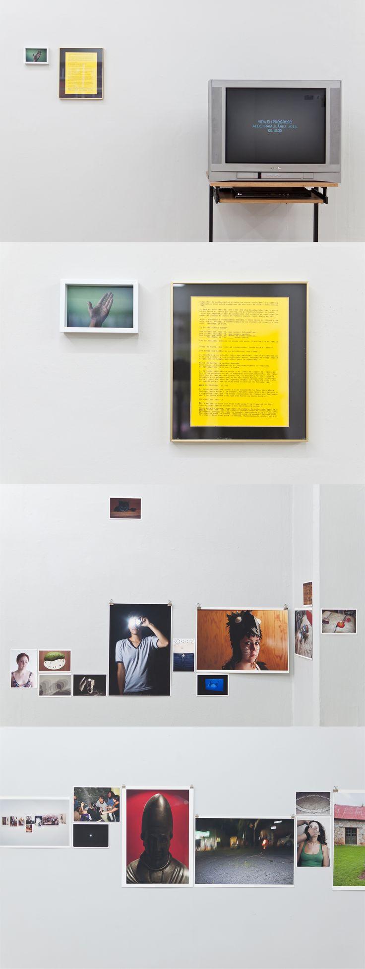 Varias impresiones mías y una pequeña video-instalación, en exhibición hasta Marzo 19 en @clubfotomex