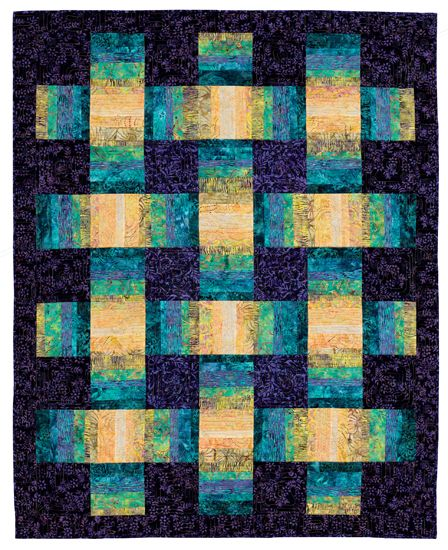 A batik stash is a beautiful thing! Click through for 7 stash-busting batik patterns, plus advice from three popular authors for using batiks in your quilts.