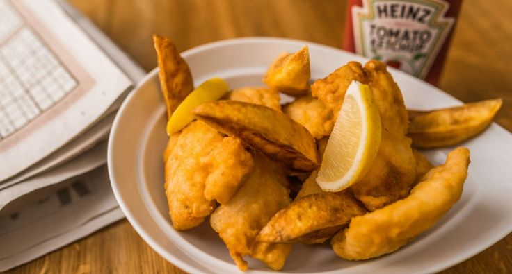 Fish and chips recept