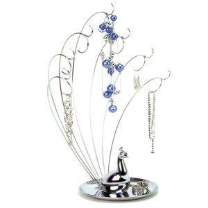 Umbra Peacock Metal Jewelry Stand