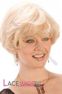 Short Bob Blonde Hair 100% Human Hair Wigs [CLRBV1071]
