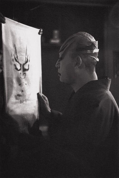 Onoe Kikugoro 1937, Japan. six-generation Kabuki actor ( Oso-sai-sho-ya - Ihei Kimura 2 )