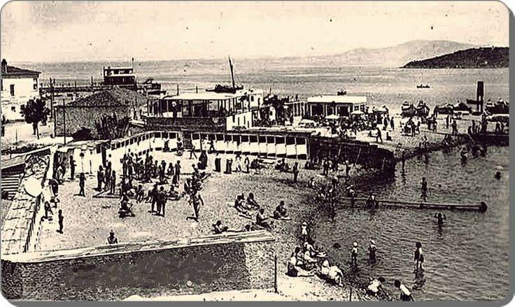 Burgazada /halk plajı - 1940 lar