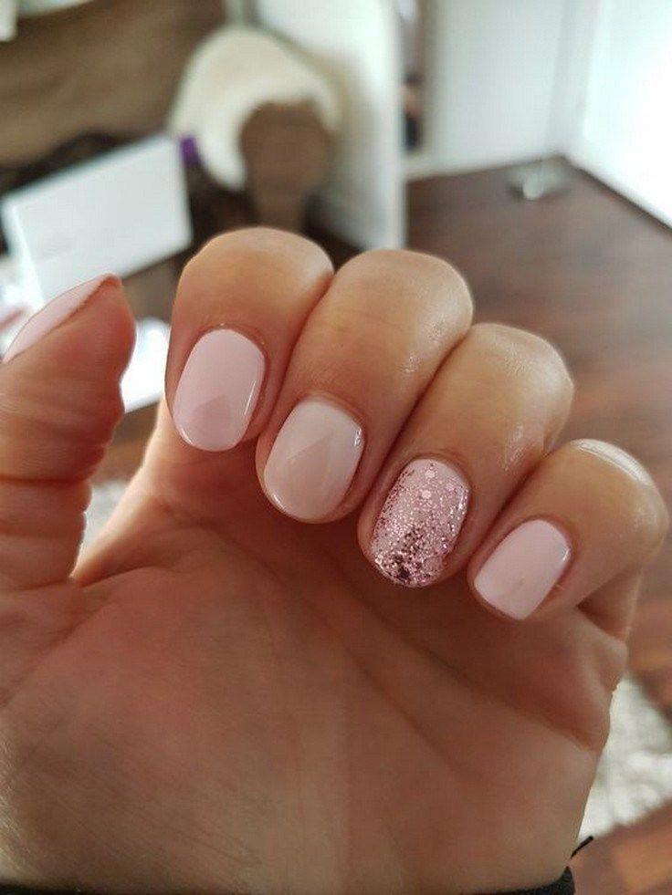 21 Trendy Gel Nail Arts Fashion Ideas To Try Now The Do S And Don Ts Of Gel Nail Arts Nailartdesigns G In 2020 Blush Nails Cnd Shellac Nails Cnd Shellac Nails Summer