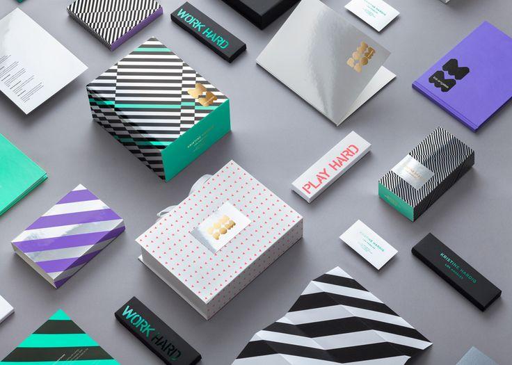 Visual Identity for lingerie brand Pom Pom designed by Reynolds and Reyner.
