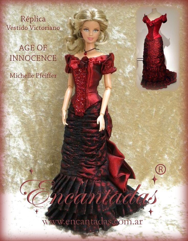 Age of Innocence - Victoriano rojo by Encantadas.deviantart.com on @DeviantArt