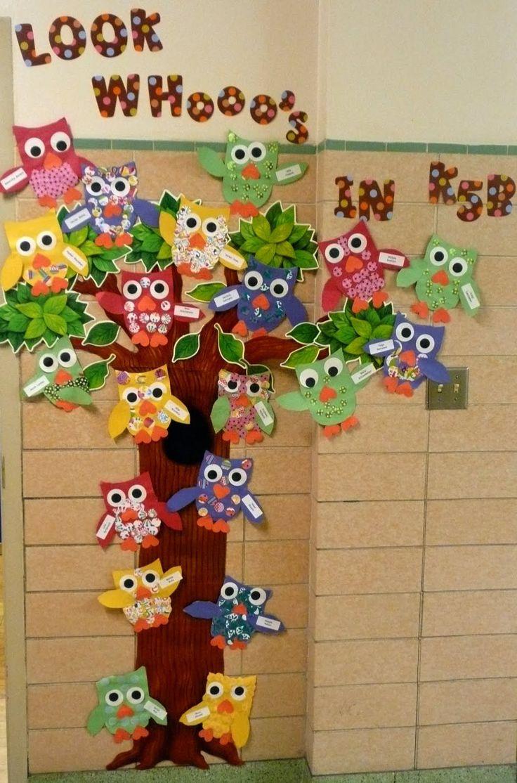 Owls decoration!